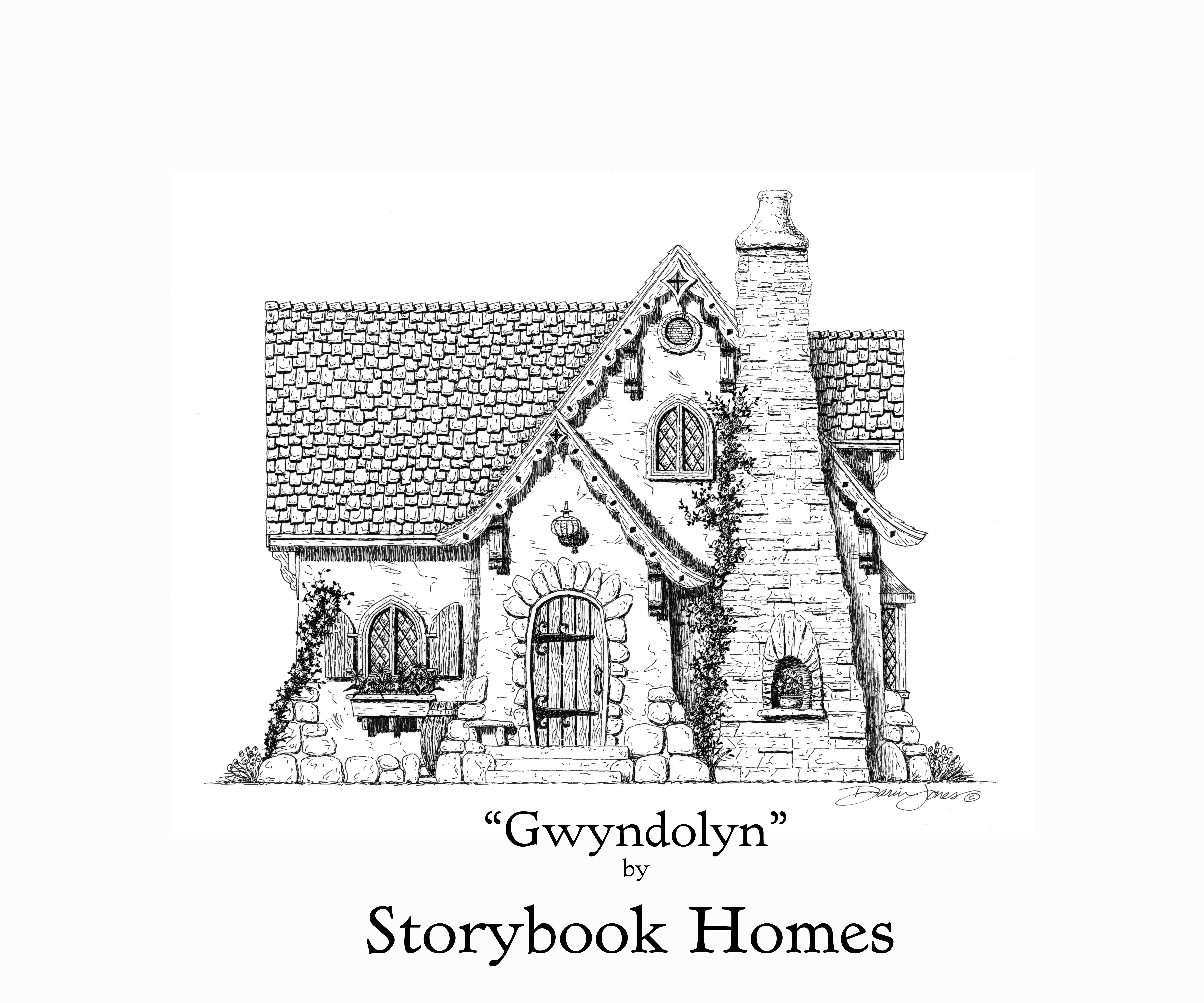 The Gwyndolyn By Storybook Homes A Cottage In Our Truly Tiny Collection