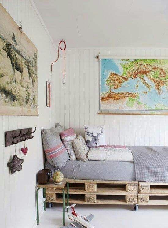Comment faire un lit en palette - 52 idées à ne pas manquer Lit