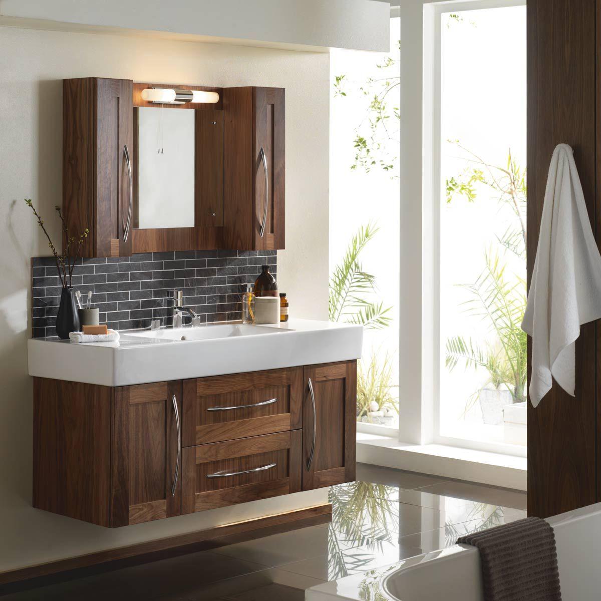 Vanity Hall Bathroom Units vanity hall shaker walnut furniture | vanity hall | pinterest | we