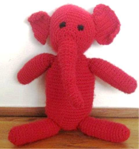 Crochet Elephant Things To Try Pinterest Crochet Stuffed