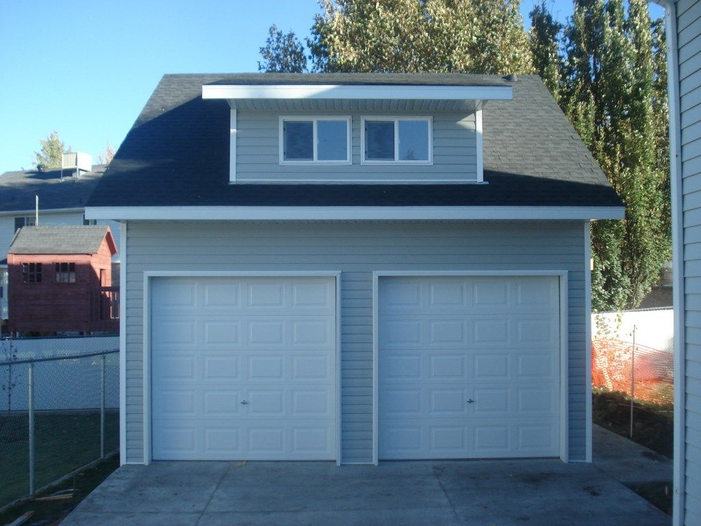 Dormer Garage Custom sheds, Old houses, Detached garage