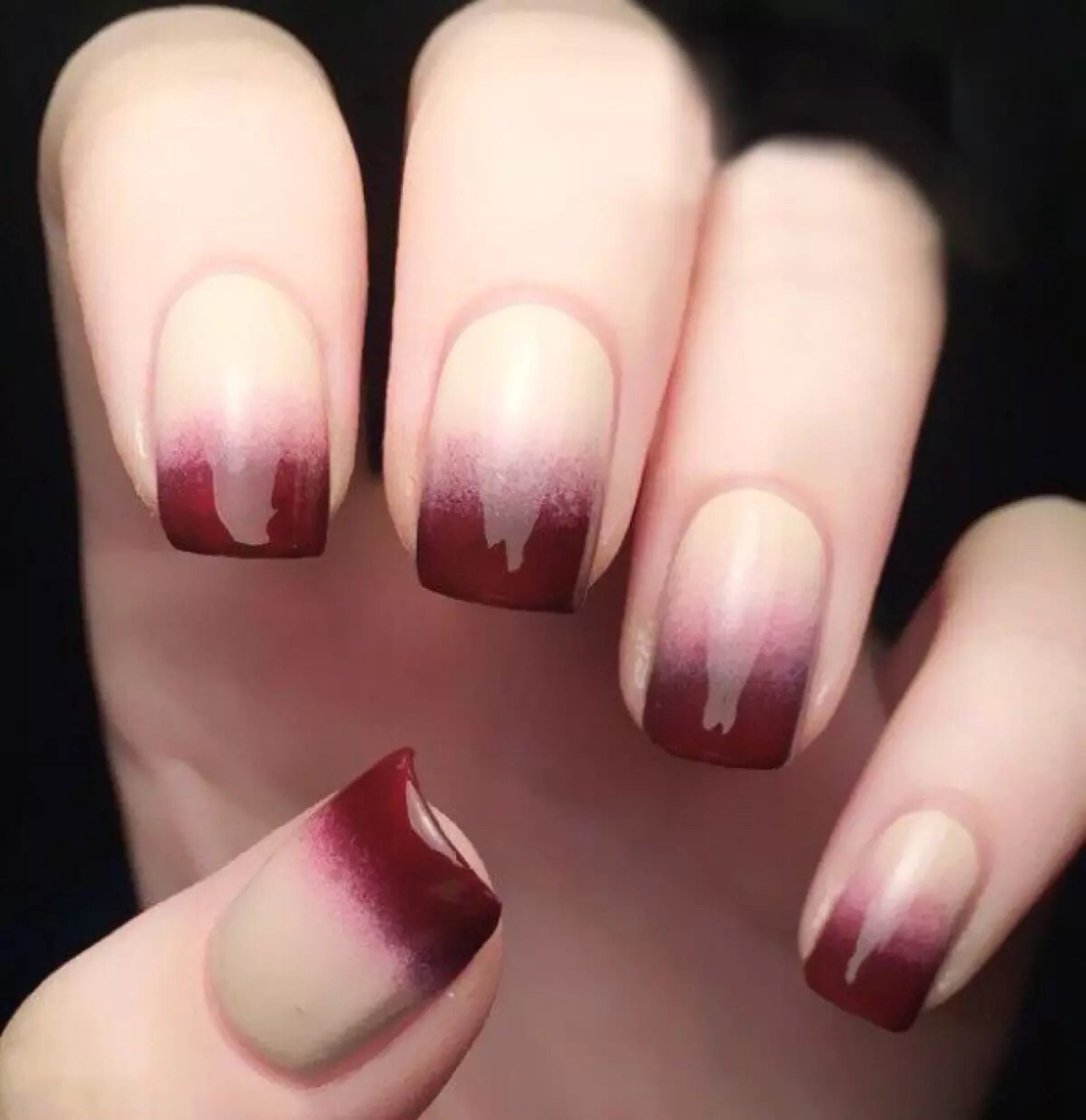 30 Unique Coffin Nails Are Definitely Your Choice Nails Natural Nails Solid Color Nails Acrylic Nails Cute Edgy Nails Grunge Nails Halloween Acrylic Nails