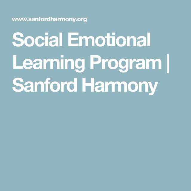 Social Emotional Learning Program