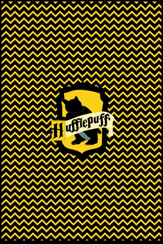 Hufflepuff Inverted Chevron iPhone 4 and iPhone 4s