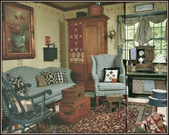 This Is My Momu0027s Living Room! Their House Was Featured In Country Almanac  In They Sold The House 11 Years Ago, But Just Recently Sold The Sofa U0026  Chair Which ...