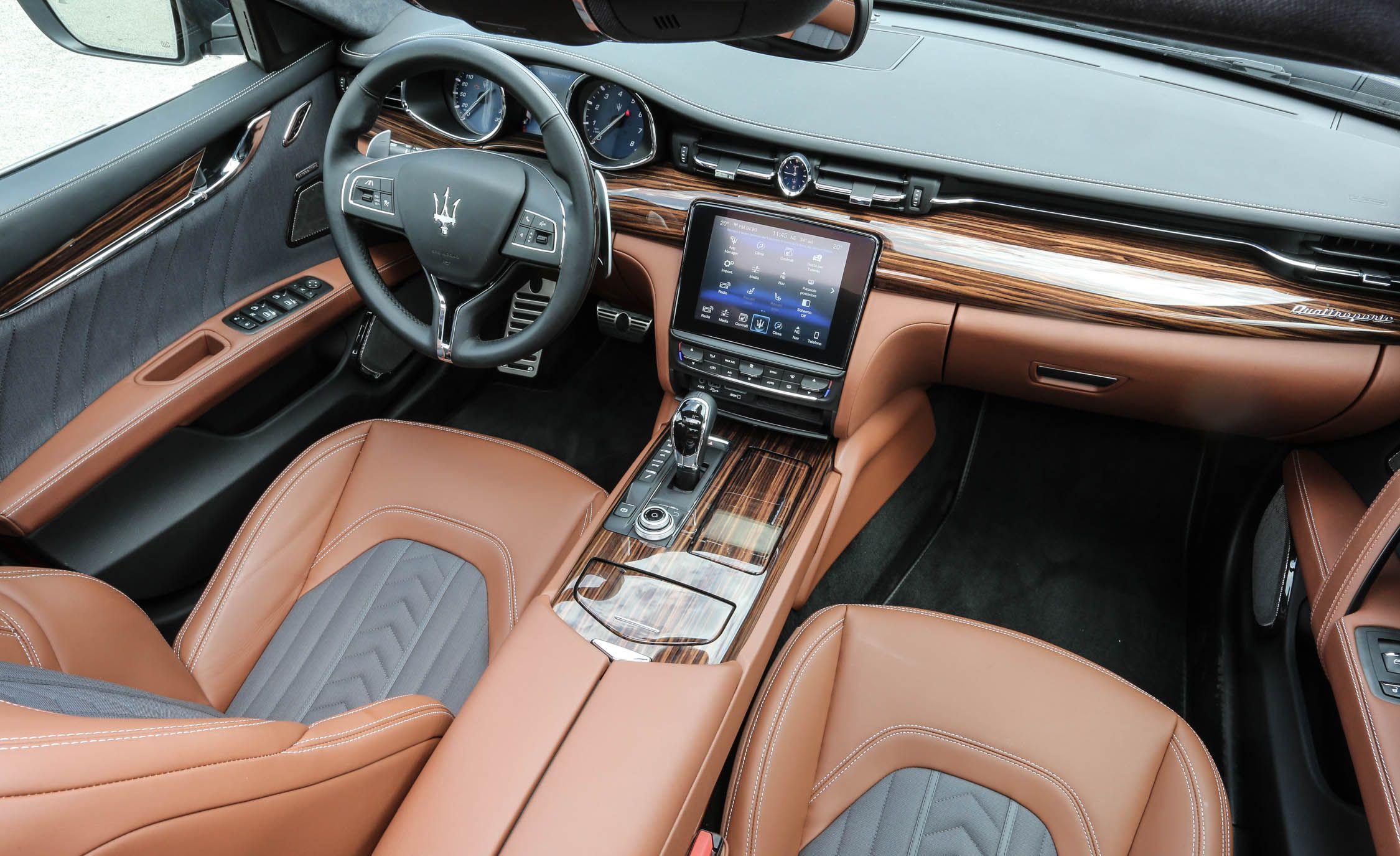 2019 Maserati Quattroporte Interior Luxury Cars Pinterest