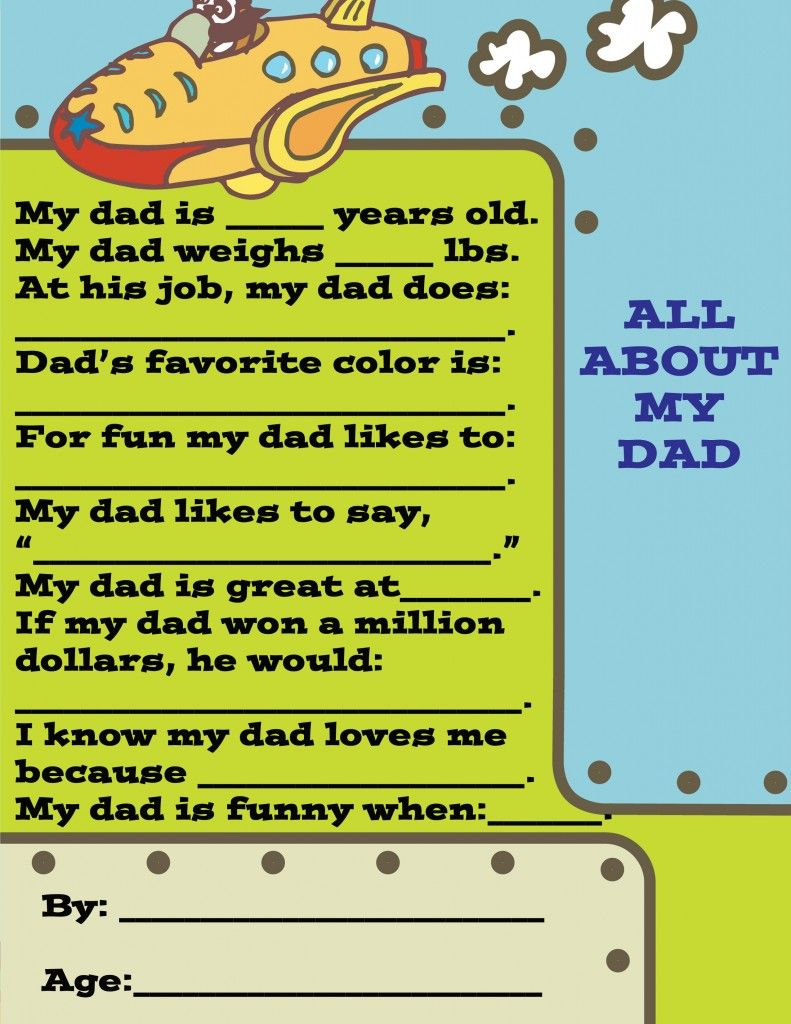 Fullsize Of Fathers Day Questionnaire
