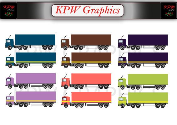 Trucks Transport Lorry Clipart Png Personal Small By Kpwgraphics
