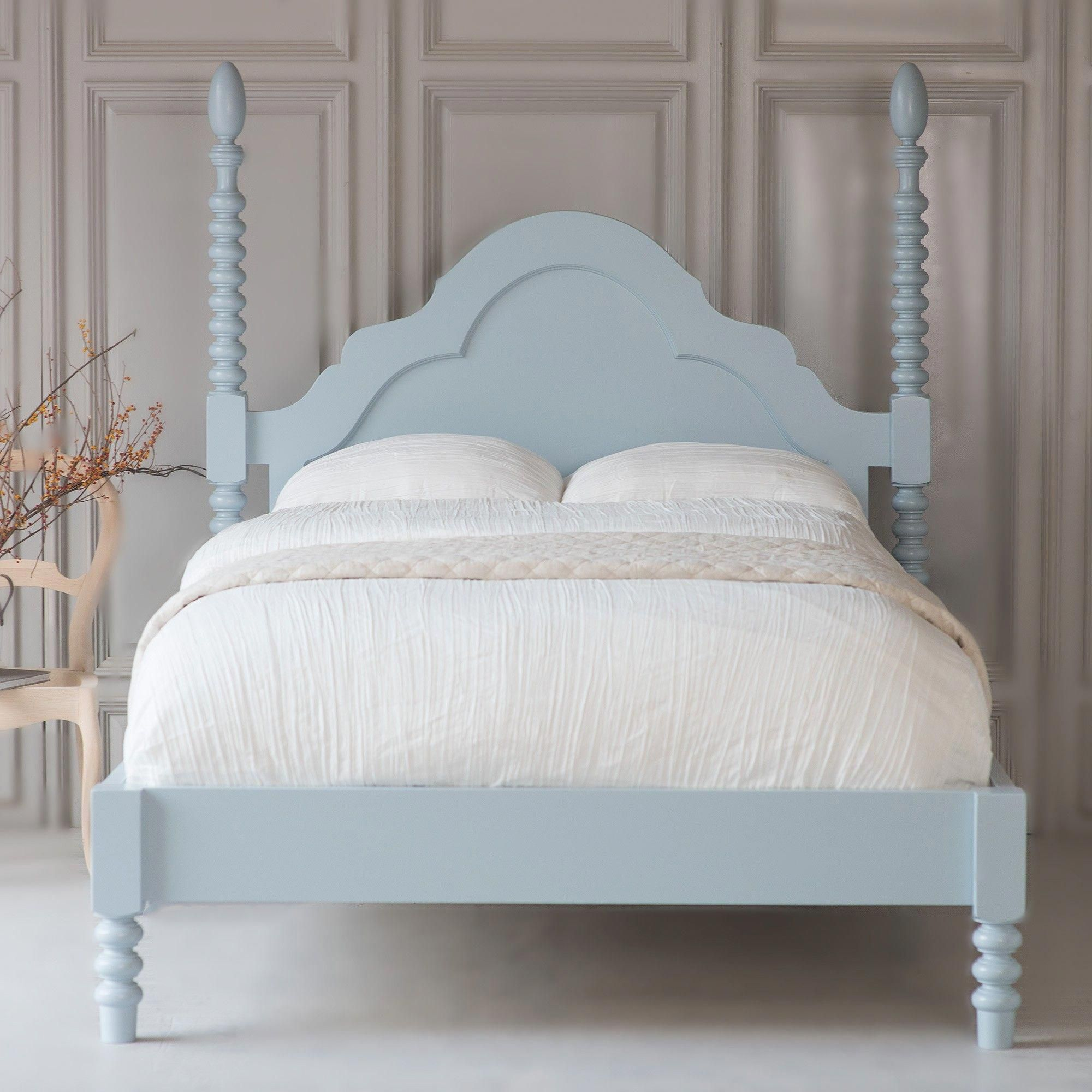 Gwenny Spindle Bed, Low Footboard (With images