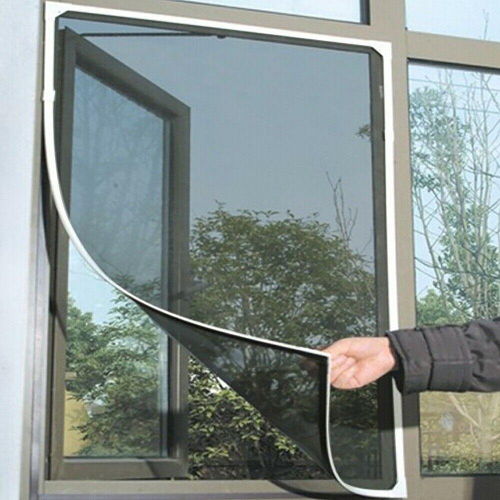 New Mosquito Netting Door Window Indoor Insect Fly Screen Curtain