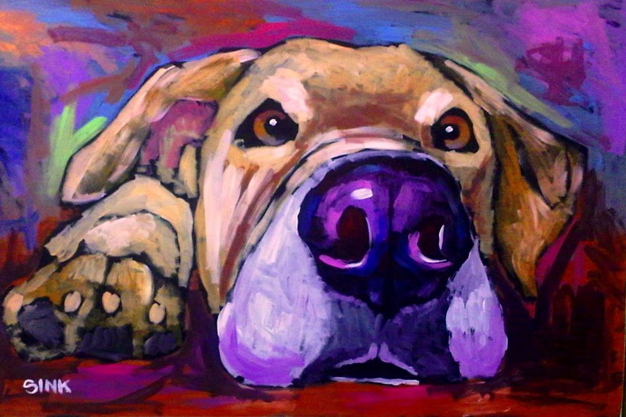 Brian Sink Dog Art Dog Art Art Dog Paintings