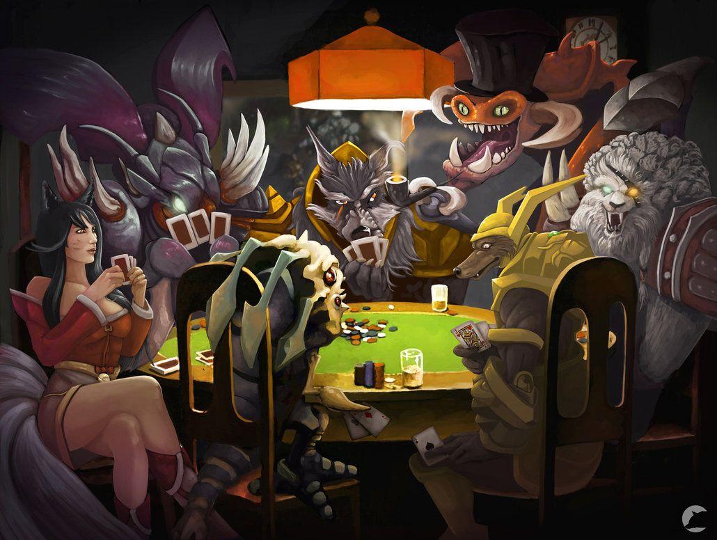 Tämä on parodia kuuluisan kuvan League Of Legends merkkiä. Toivottavasti pidät siitä