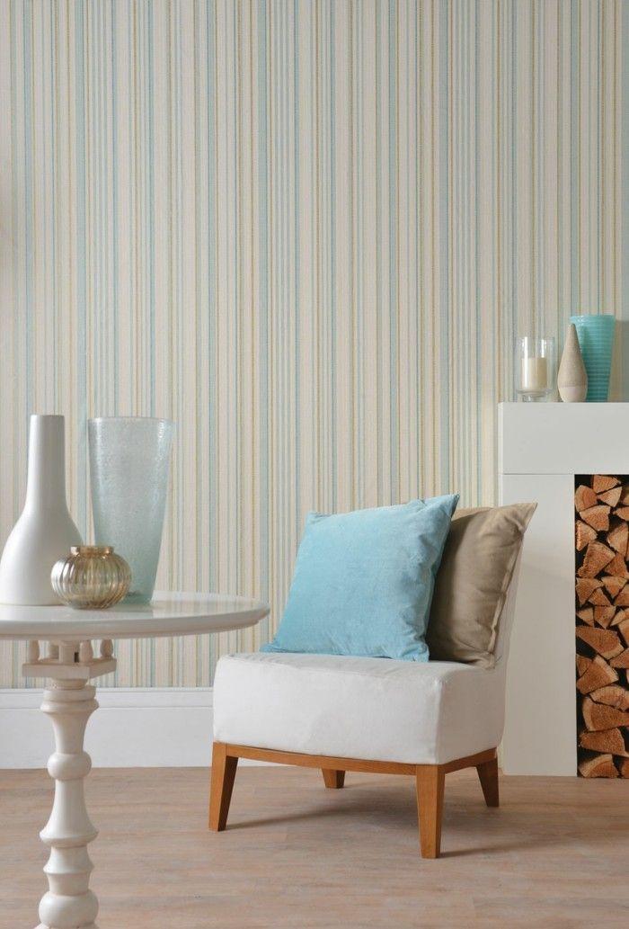 Tapeten Ideen Dezente Farben Im Wohnbereich Kombinieren