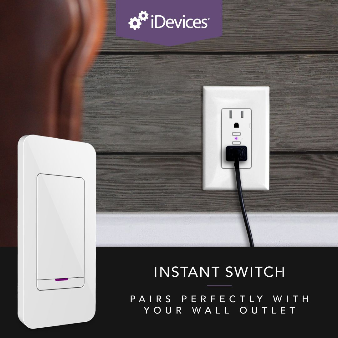 Wall Outlet + Instant Switch | iDevices Instant Switch | Pinterest ...