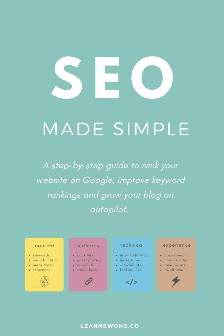Seo made simple a stepbystep guide to rank on google