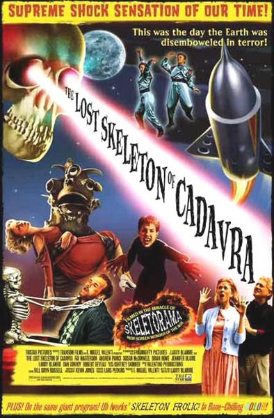 Practically a classic, now. =) The first of the Blamire films to come out, The Lost Skeleton of Cadavra.