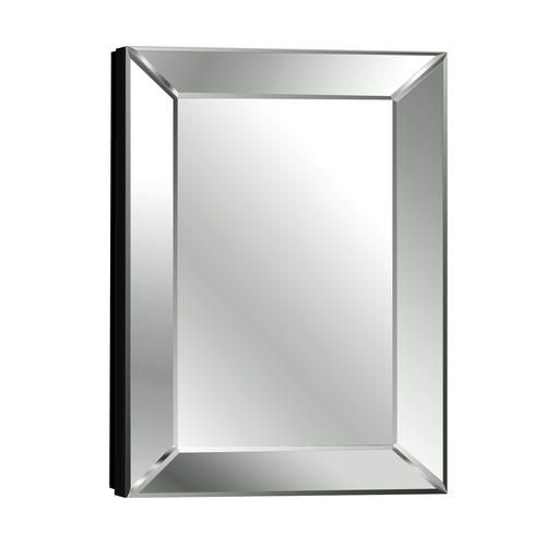 Pace 18 Mitered Beveled Mirror Medicine Cabinet