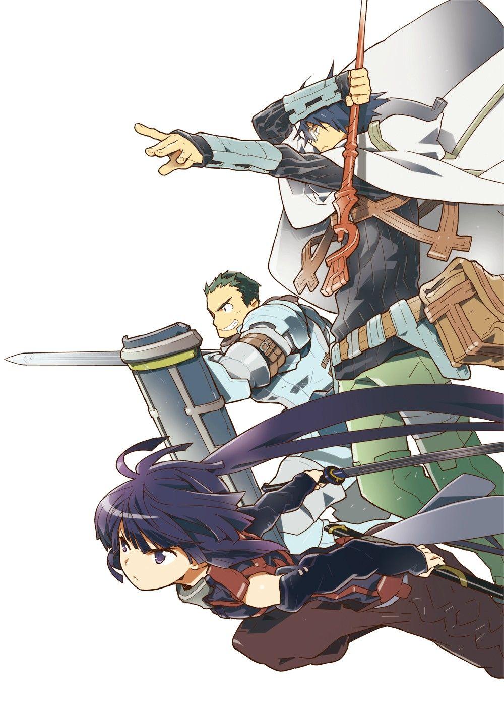 Log Horizon HQ Manga Poster Log horizon, Log horizon