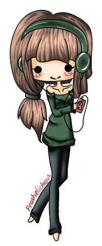 Chibi Girl With Glasses Anime Cached Ipad Tons Of Repost