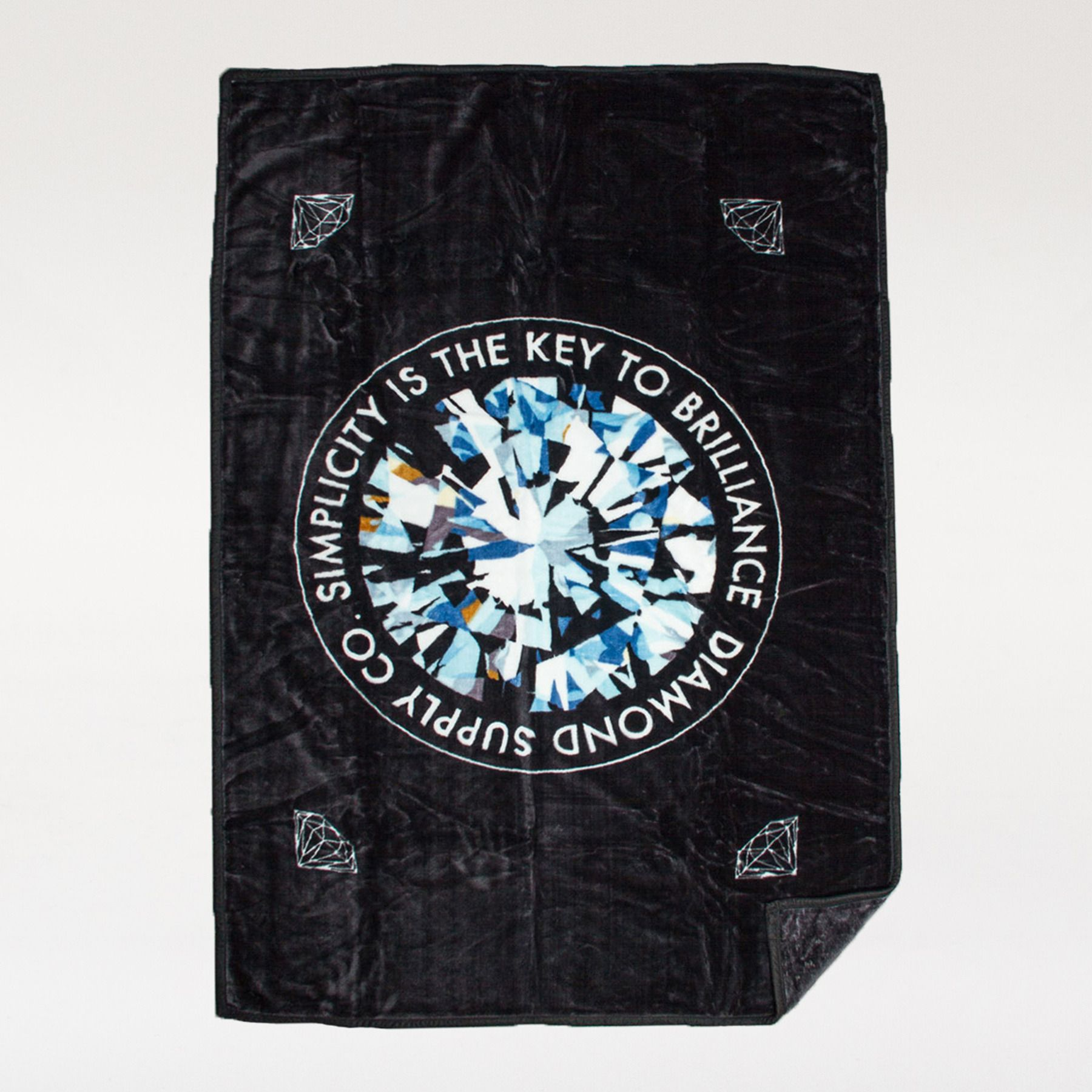 Diamond Supply Co Blanket