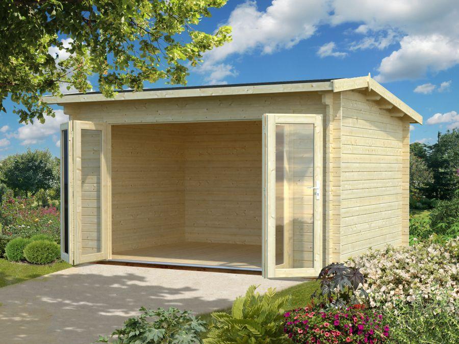 Palmako Gartenhaus Ines 11,1 m² Garden buildings, Garden