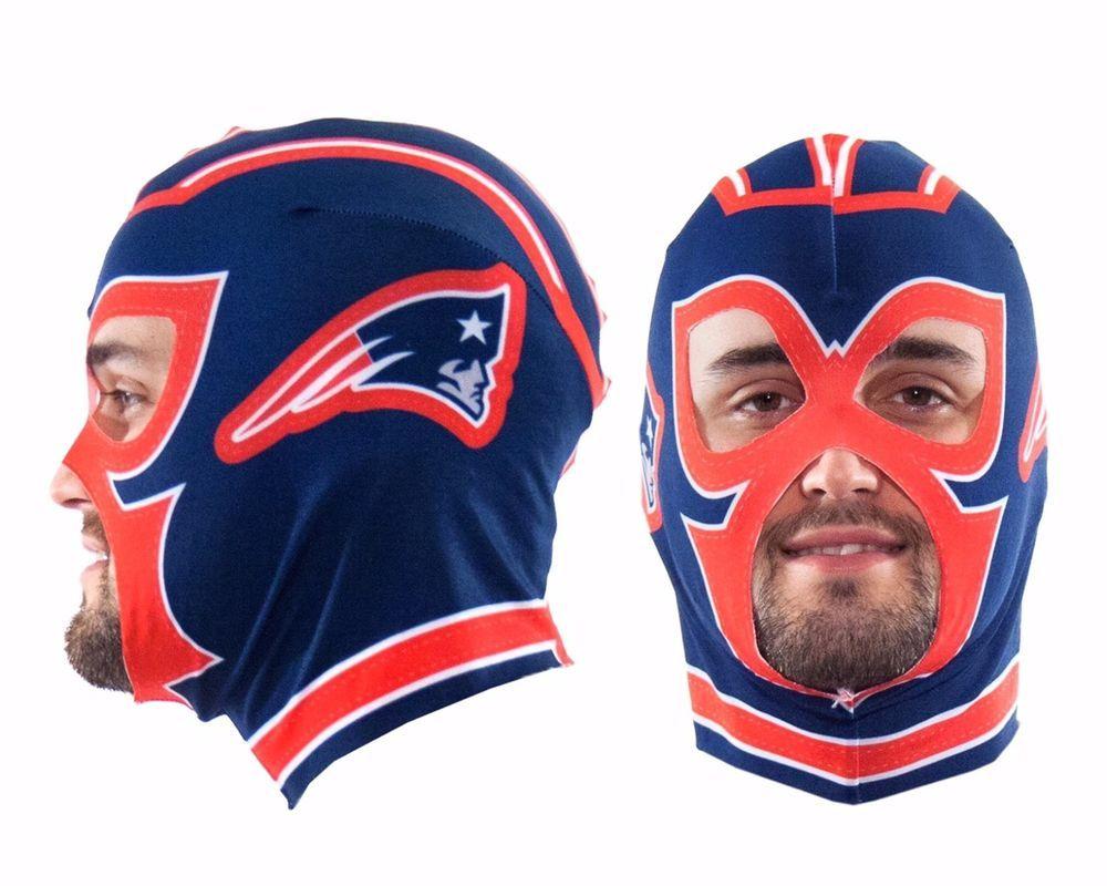 Nfl New England Patriots Fan Mask Ebay Nfl New England Patriots New England Patriots Patriots Fans