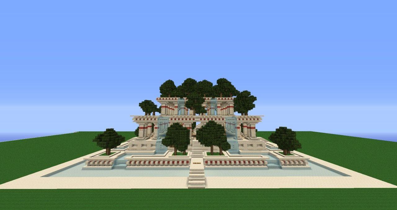 Hanging Gardens Of Babylon Minecraft Project