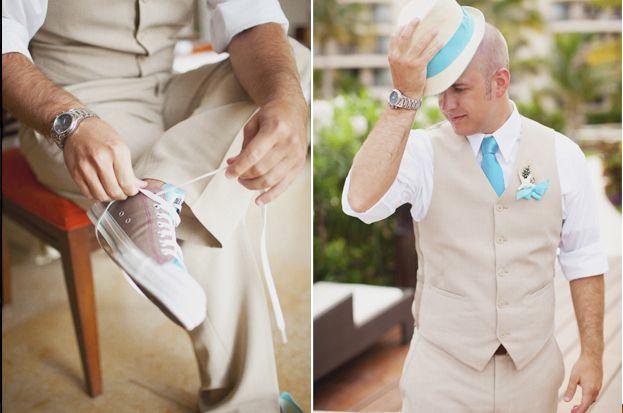 Groom Attire For Outdoor Wedding