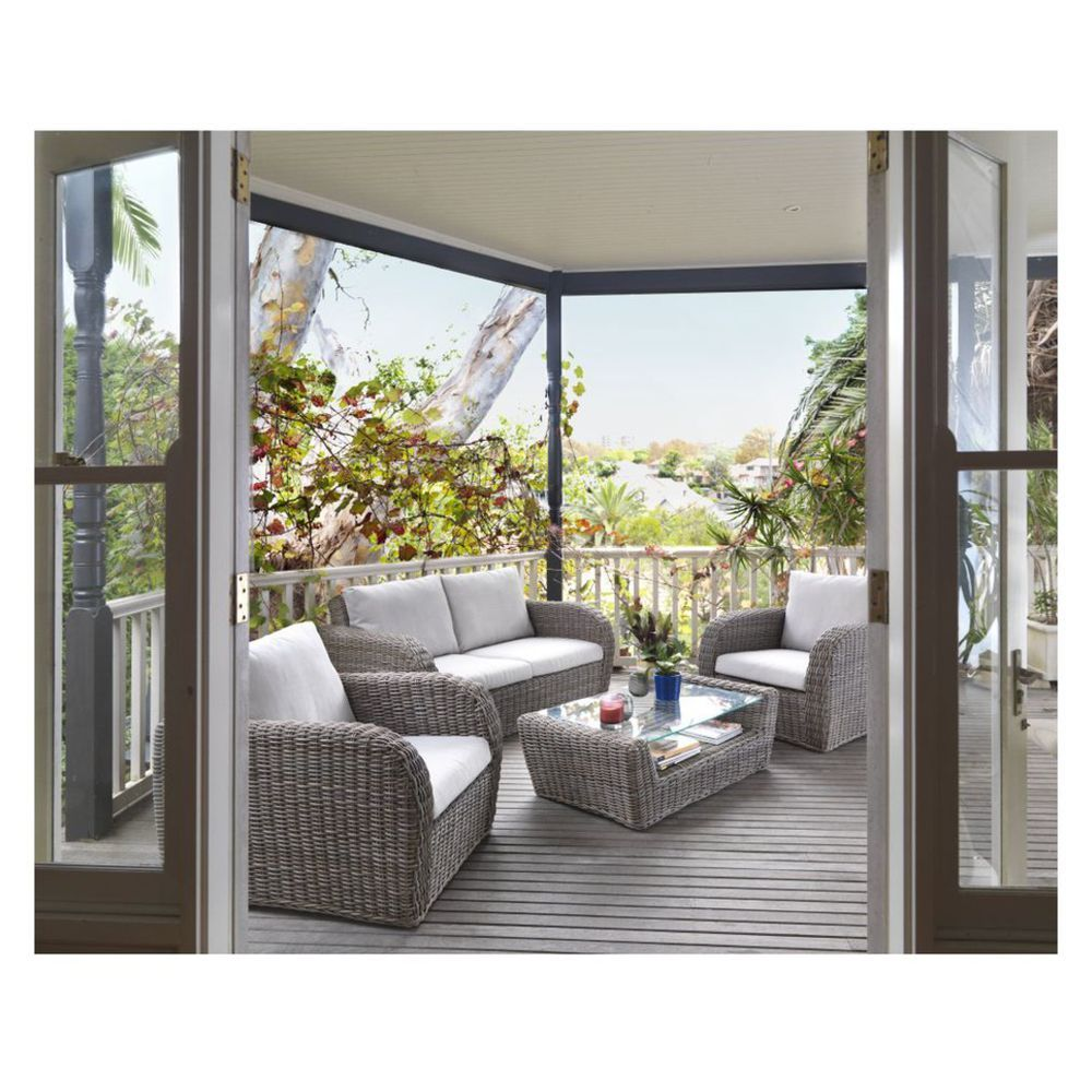 Finlay   Smith Kopipi Outdoor Lounge Setting 4 Piece   Masters Home  Improvement. Finlay   Smith Kopipi Outdoor Lounge Setting 4 Piece   Masters