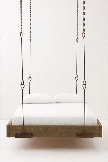 My husband's dream bed