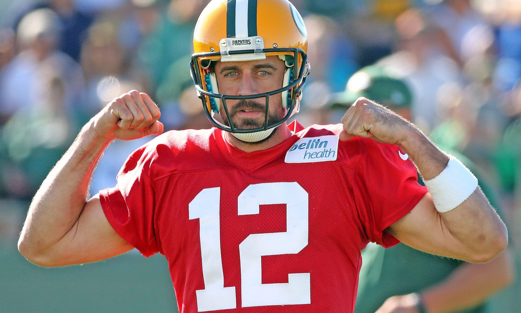 Don T Call It A Guarantee But Aaron Rodgers Plans On Mvp Season In 2018 Aaron Rodgers Mvp Nfl