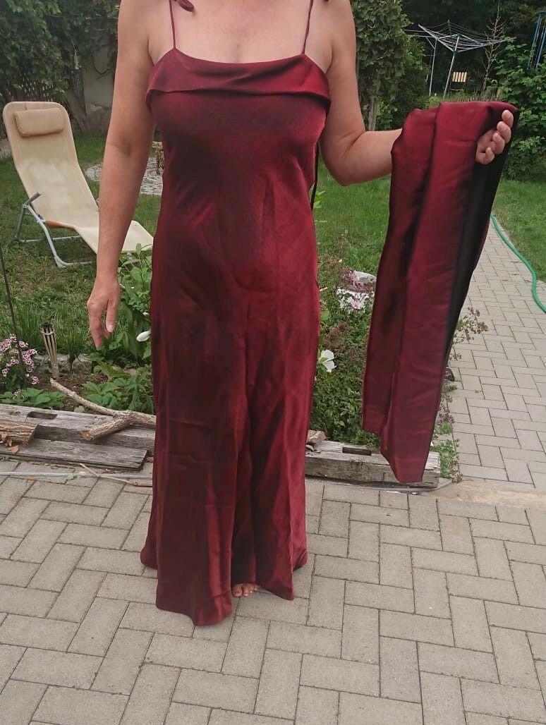 kleid festlich weit rot gr.schwefel-kleider – ideas of