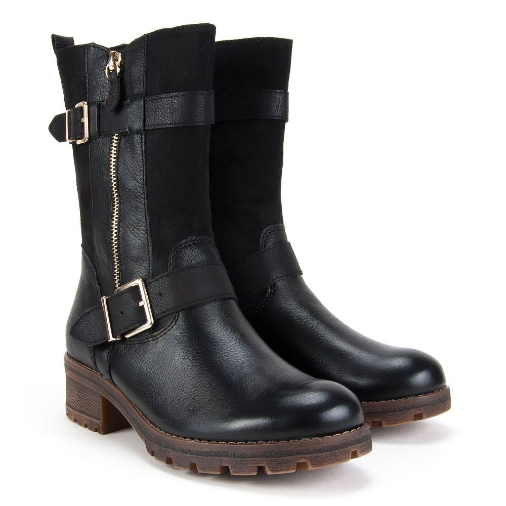 Kozaki Damskie Http Www Filippo Pl Kozaki Tamaris 1 26000 37 001 Czarne Boots Biker Boot Shoes