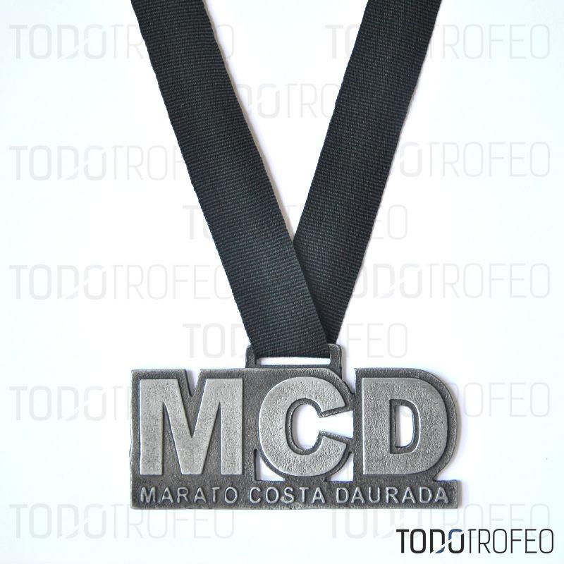 MEDALLA MARATÓN COSTA DAURADA 2014. Diseñamos las medallas