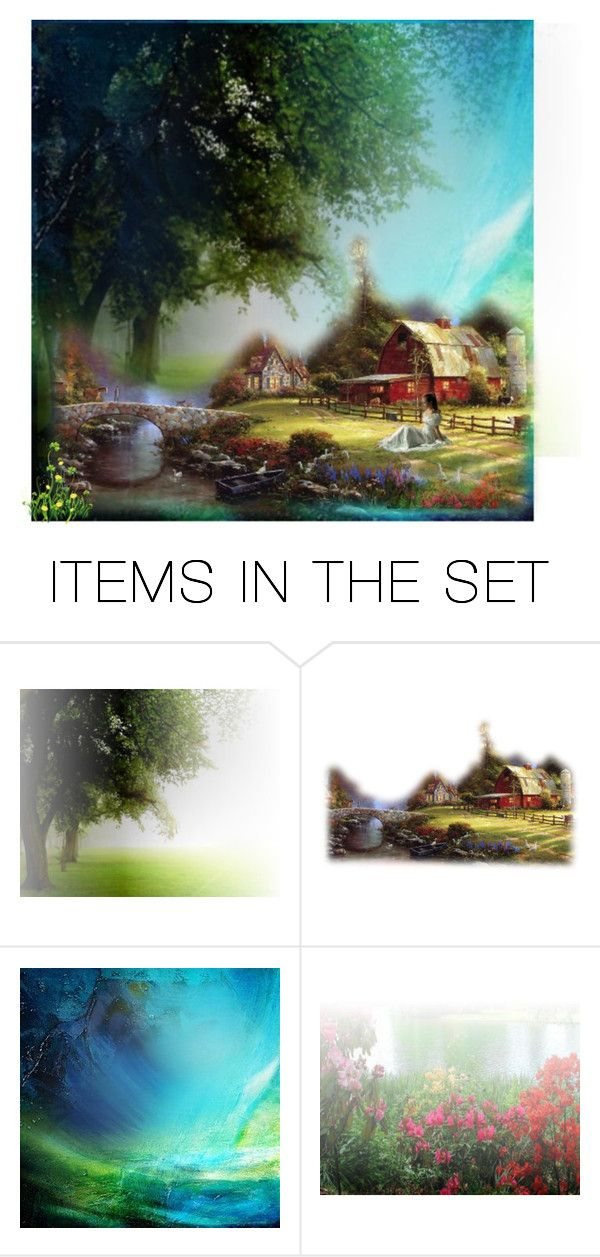 """Country Living"" by glitterlady4 ❤ liked on Polyvore featuring art and country"
