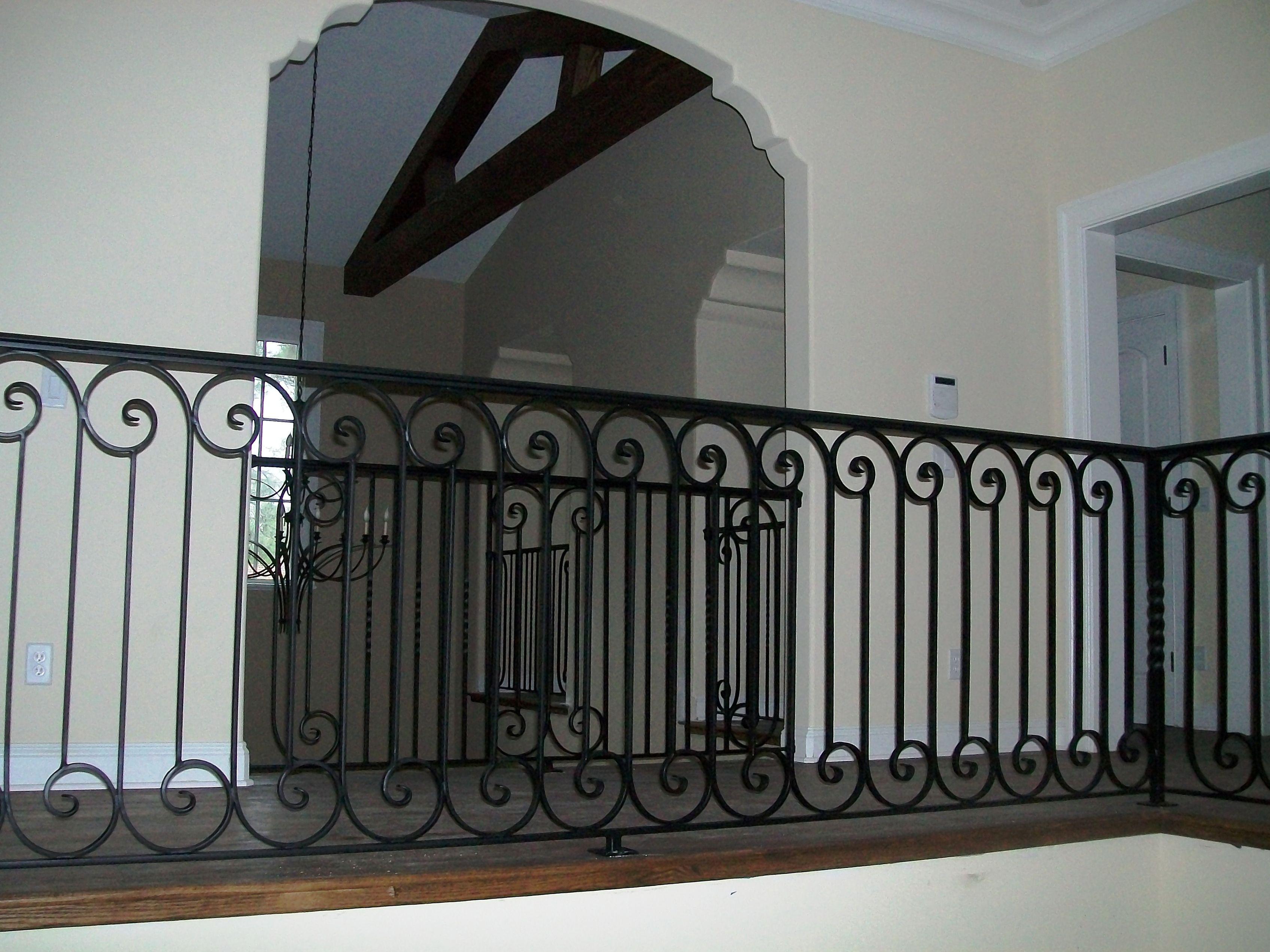 Outdoor Wrought Iron Railings Deck Home Design Ideas exterior