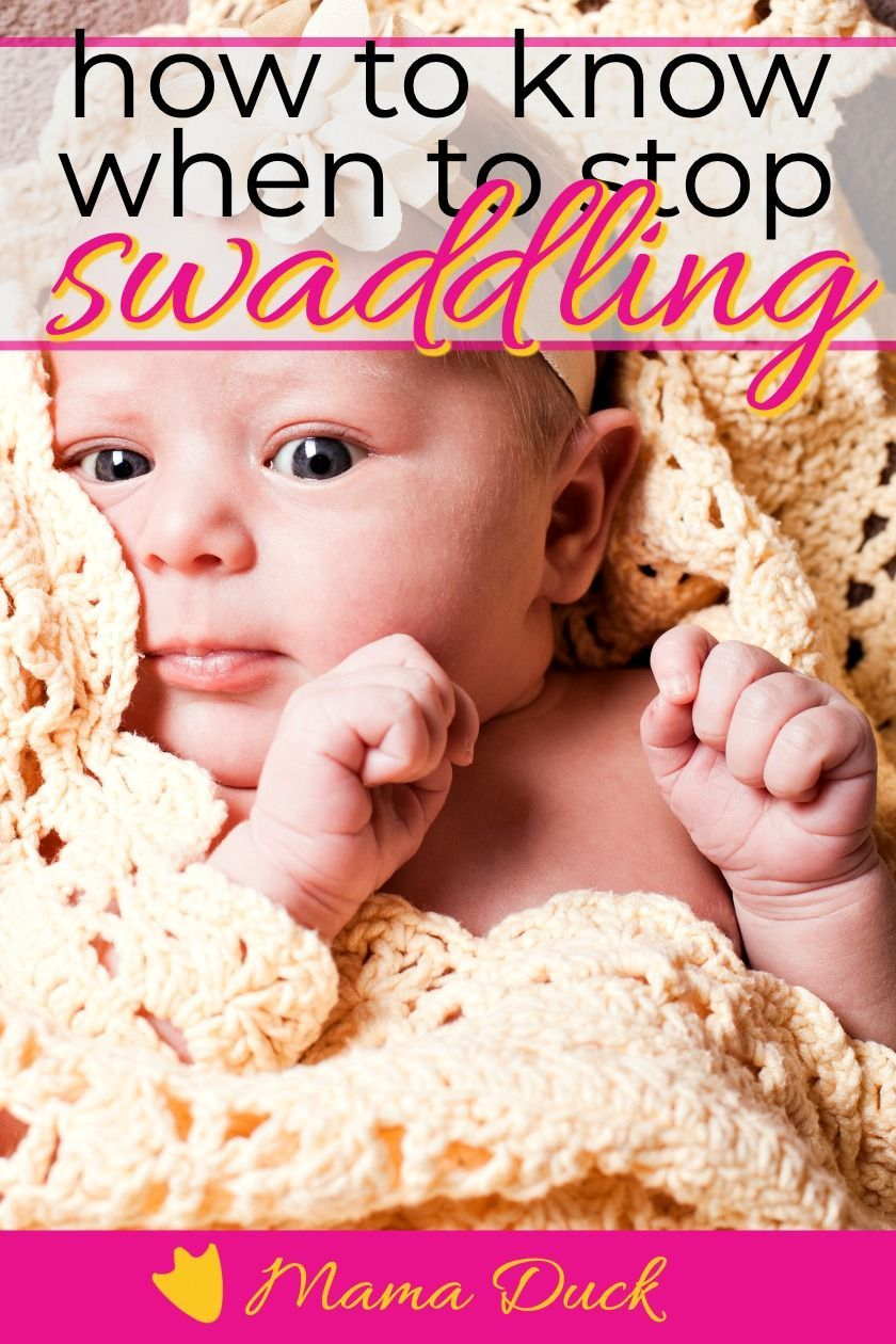 How to Know When to Stop Swaddling Baby Baby swaddle