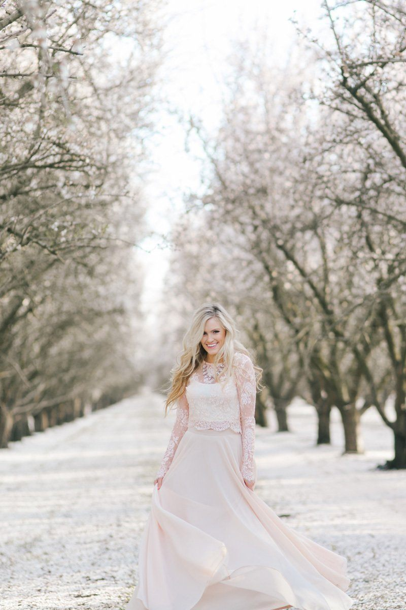 0ae2353add1 Amelia Full Pink Maxi Skirt in 2018 | Wedding | Skirts, Bridal ...