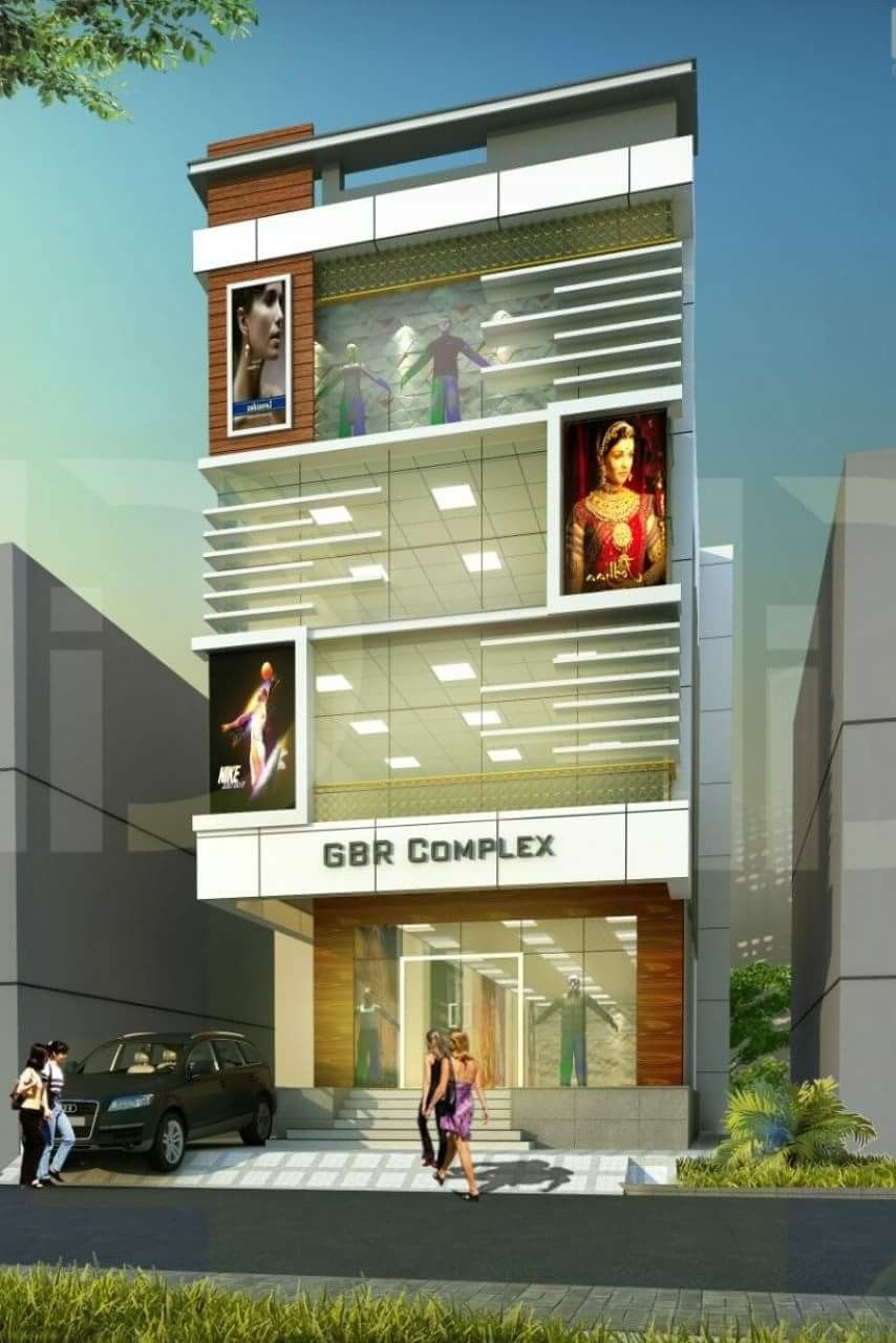 Room Construction Design: Plaza Design, Front Elevation Designs, Building