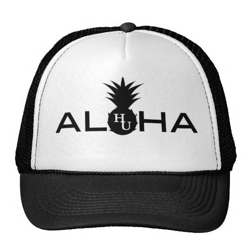 a07dd30f289 Hawaii Unchained trucker hat