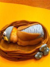 Fondant Owl baby cake topper