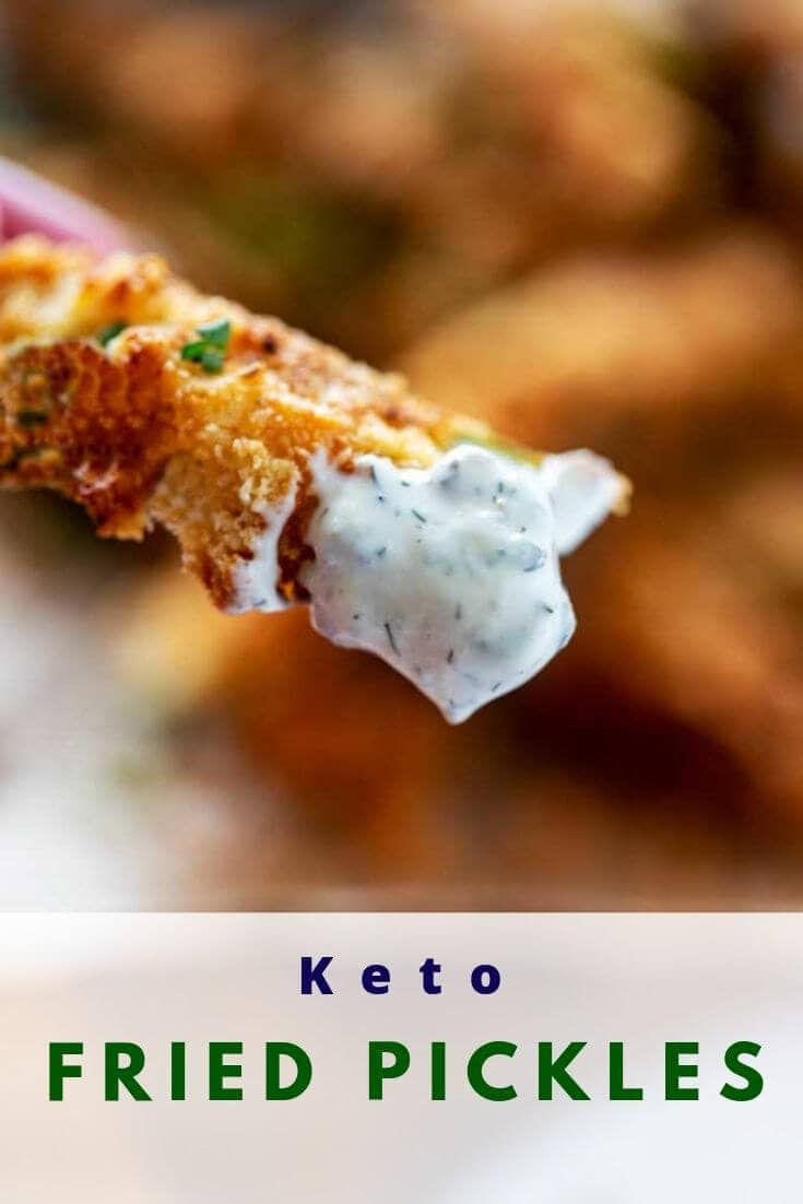 Keto Fried Pickles Recipe Fried Pickles Easy Fried