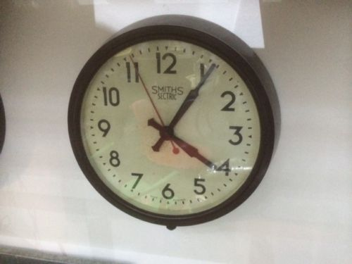 large office wall clocks. Vintage Bakelite Smiths Sectric School Office/Station Electric Wall Clock LARGE In Collectables, Clocks Large Office