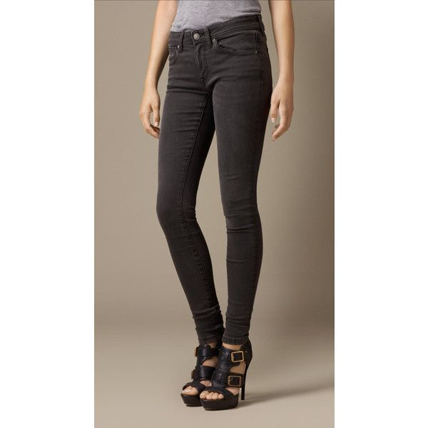 Burberry Skinny Fit Low-Rise Hand-Sanded Jeans