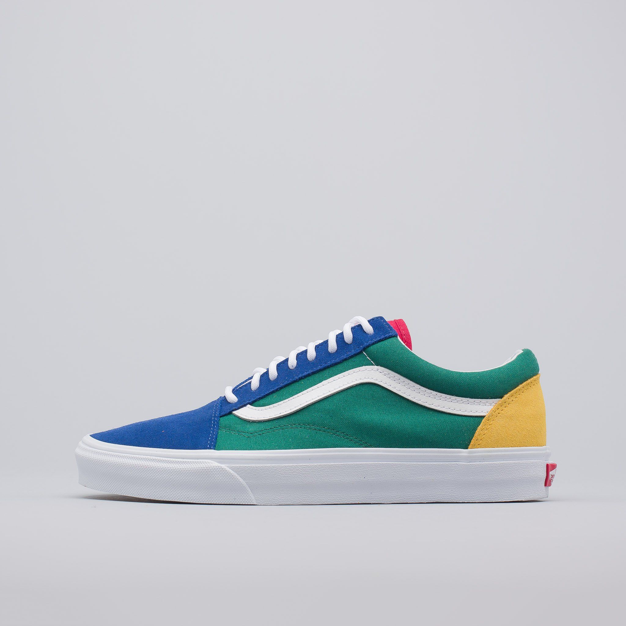 Vans Yacht Club: Vans Yacht Club Old Skool In Blue/Green/Yellow