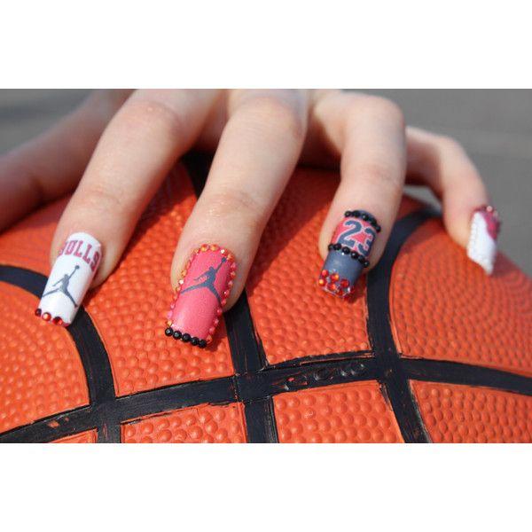 Jordan Chicago Bulls Love Basketball Nail Decals Waterslide ...