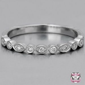 Image result for art deco wedding ring Wedding bands Pinterest
