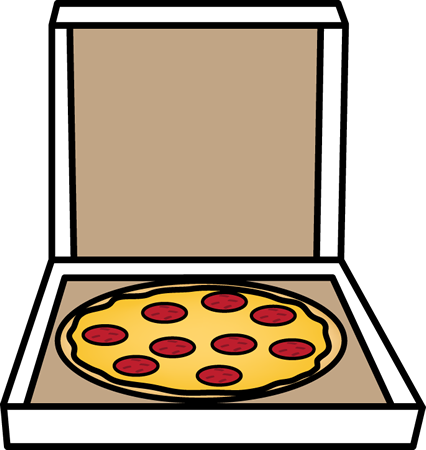 Free Mycutegraphics Pizza Clip Art Pizza In A Box Pizza Toppings White Background Mix Pizza