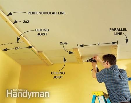 How To Build A Soffit Box With Recessed Lighting Cove