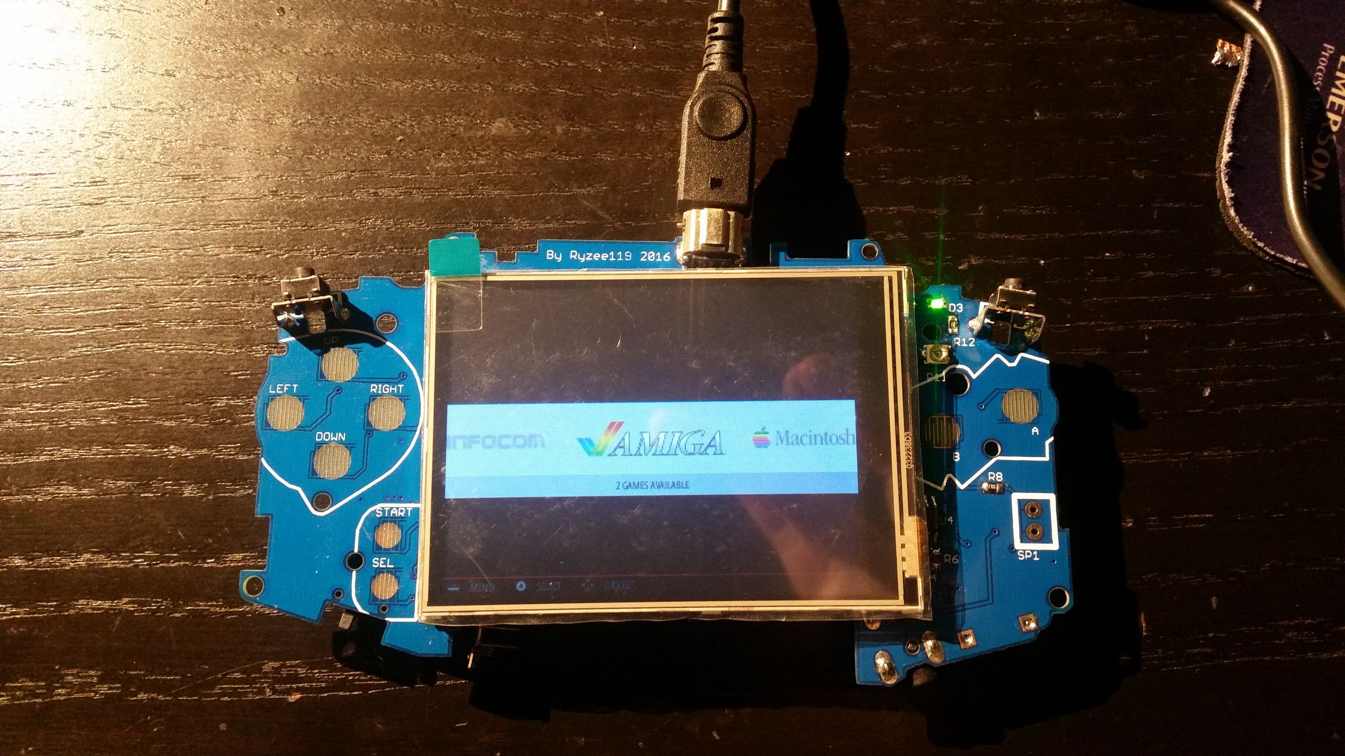 Emulator inside GBA | Raspberry PI
